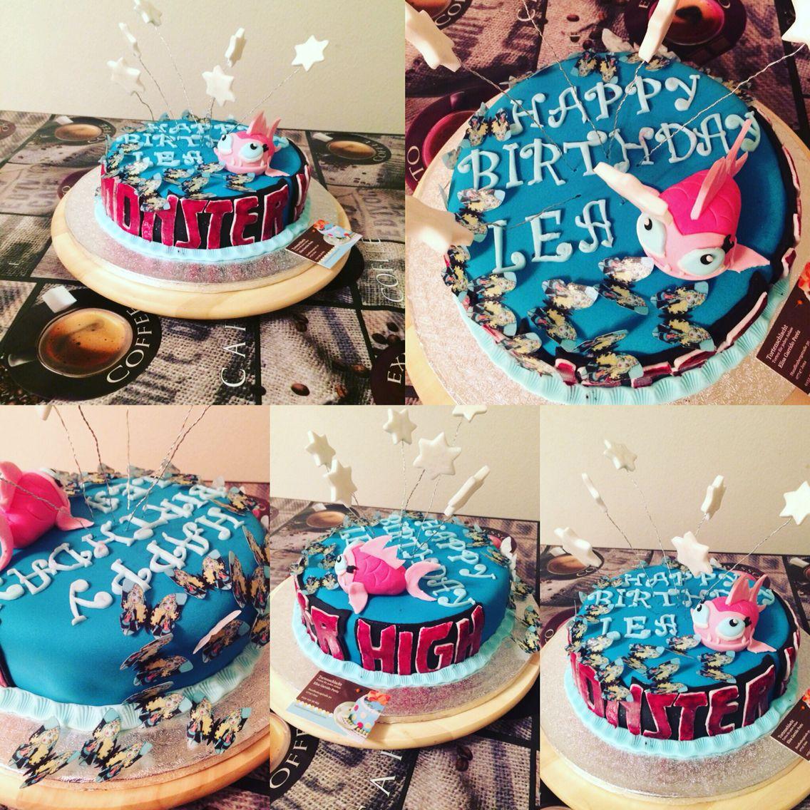 Monster High Torte ( Lagoona )