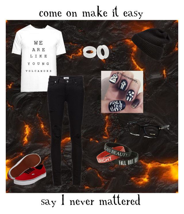 """Young Volcanoes"" by im1with8the2band ❤ liked on Polyvore"