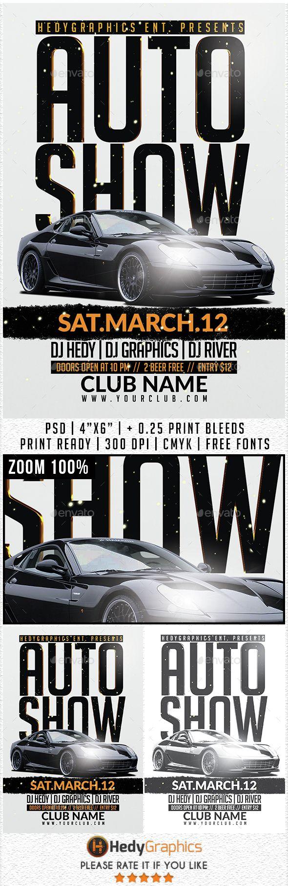 Auto Show Flyer Template Code Script Pinterest Flyer - Free car show flyer template