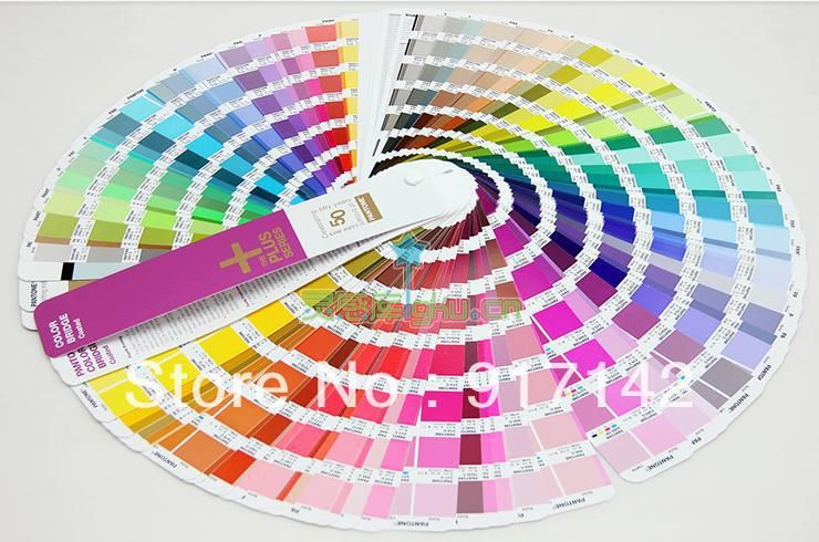 pantone color International standards pantone pantone 2013 C pantone color bridge GG4103 card CMYK four colored card