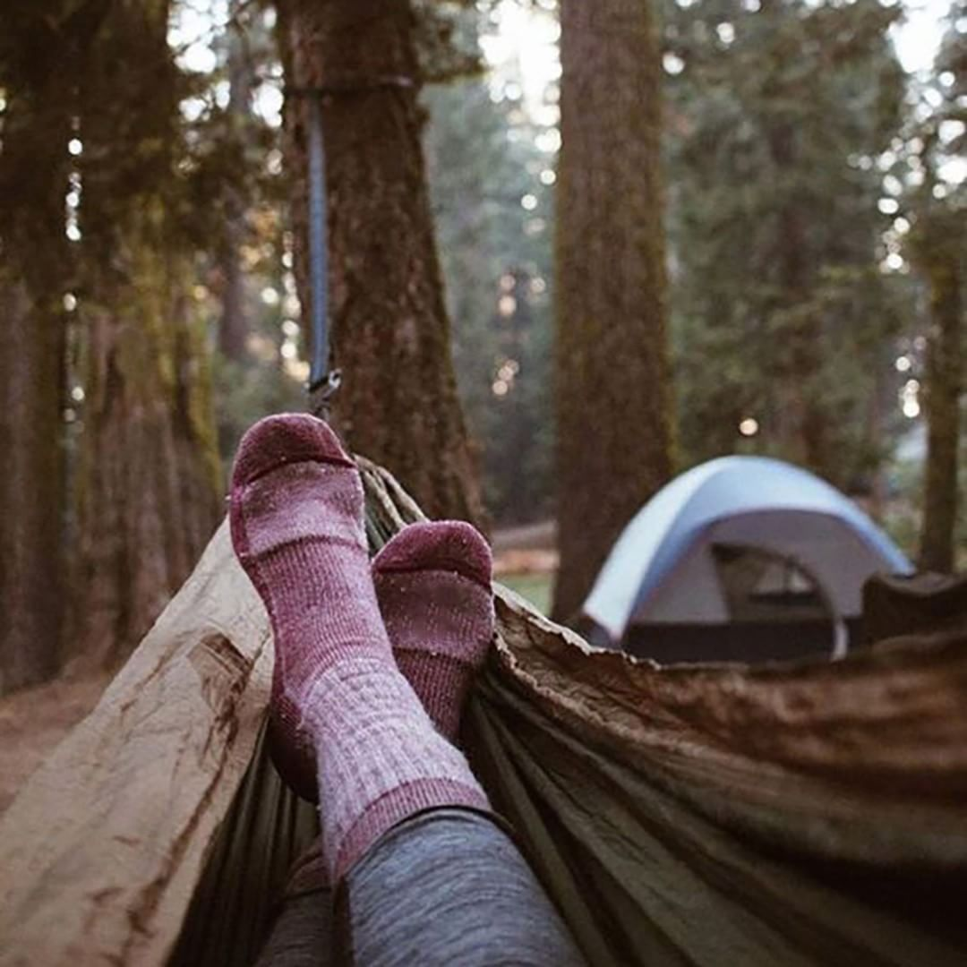 Put your feet up... and enjoy the winter camp life! #findyourbliss #togohammock #Blissful #NatureIsPerfect #Relaxing #Hammocks #Hammocklife… #campingpictures