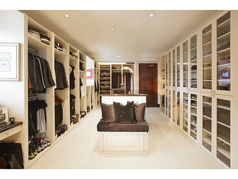 This Huge Walk In Closet Is Seemingly Endless Miami Beach FL Coldwell Banker