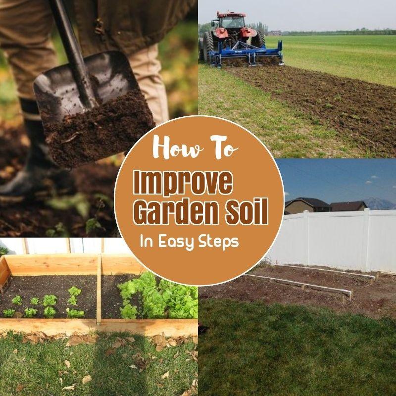 How To Prepare Soil For Gardening Garden Soil Garden Soil