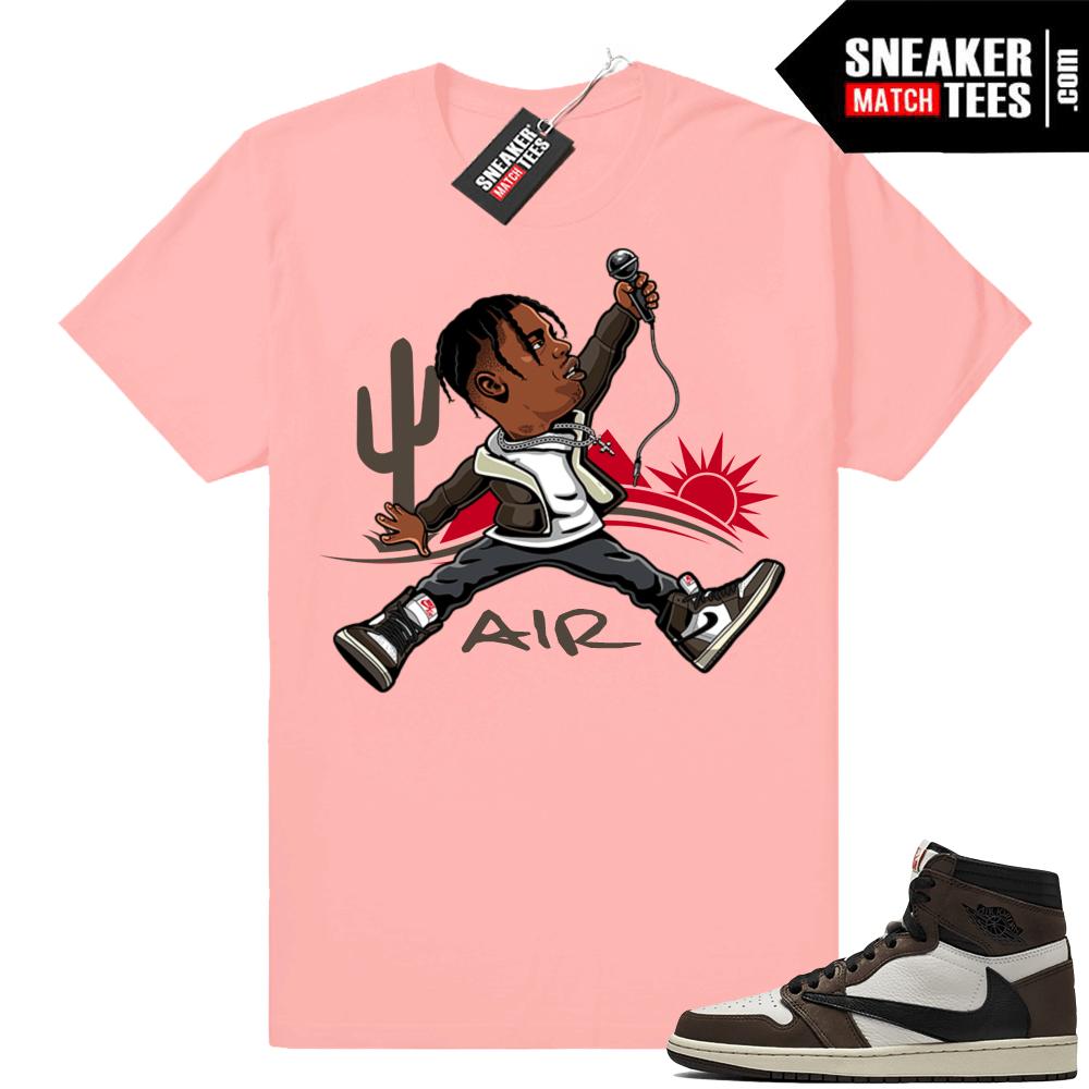Air Jordan 1 Travis Scott Shirt Match Jordan Match Clothing Shop Travis Scott Shirt Sneaker Match Tees Travis Scott Outfits