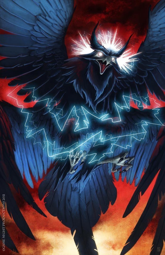 27+ Thunderbird art ideas