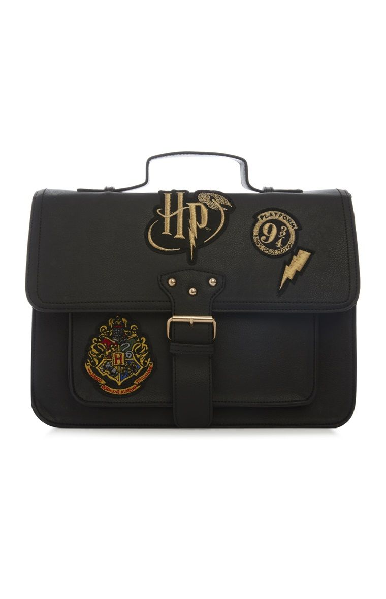6927cf9f63015 Primark - Sacoche Harry Potter noire