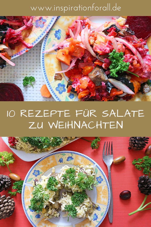 Salate zu Weihnachten – die 10 leckersten Rezepte | Leckere Rezepte ...