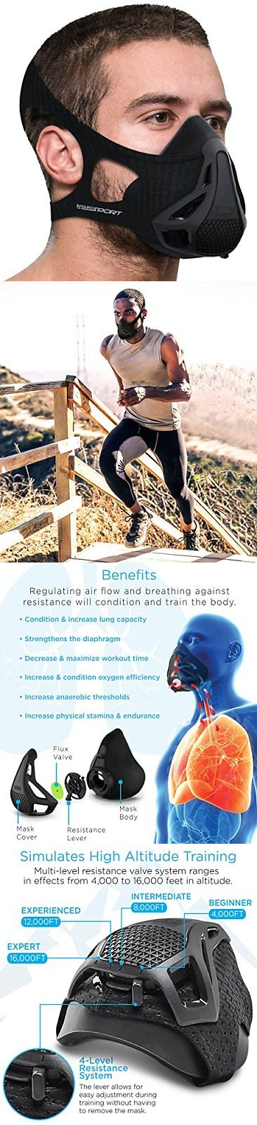 Elevation Training Masks 179787: Aduro Sport Workout Training Mask - For Running Biking And Fitness, With High... -> BUY IT NOW ONLY: $63.96 on eBay!