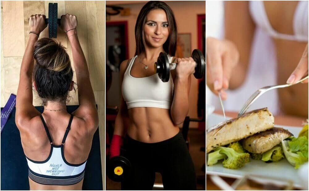 perdere grasso e ottenere massa muscolare