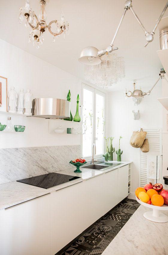 Paris Renovation Et Reamenagement D Un Appartement Haussmanien