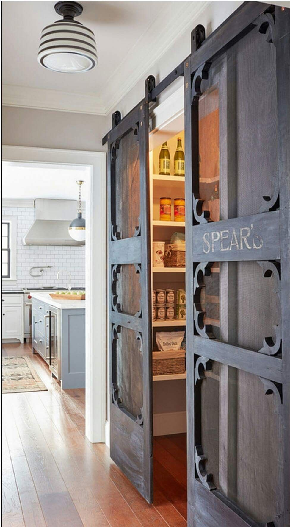 40 cool and simple farmhouse pantry decor