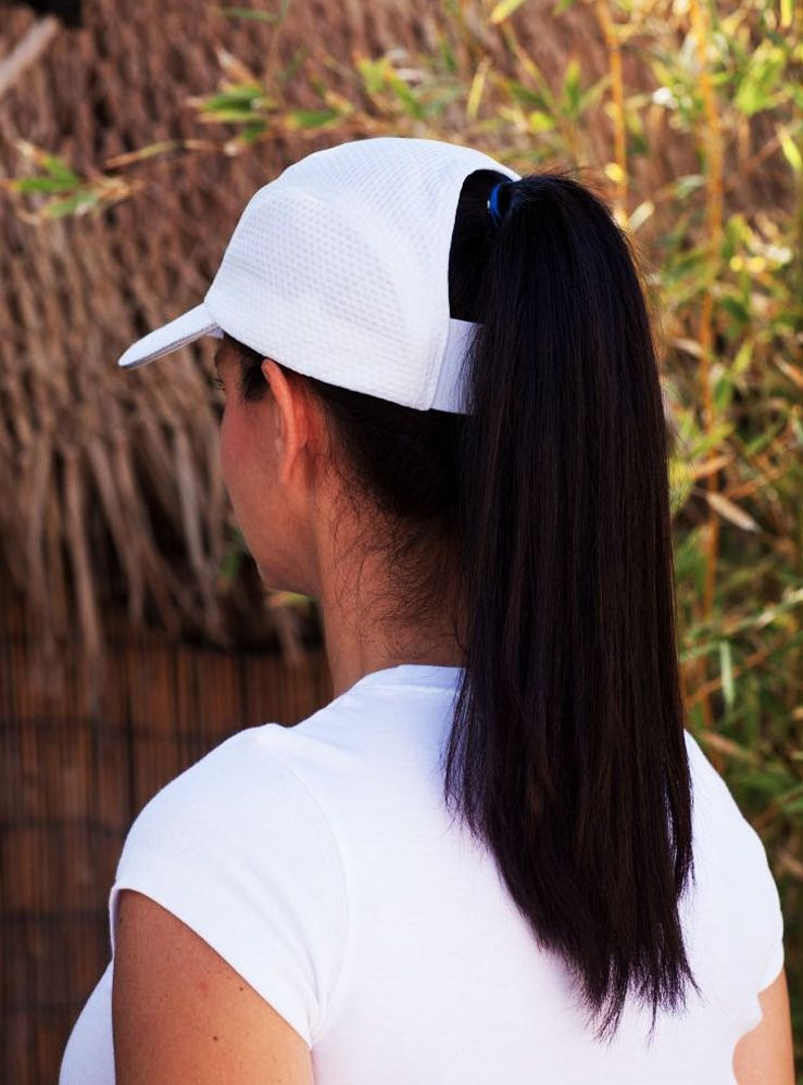 This Hat Solves A Classic Summer Problem Ponytail Hat Ponytail Hats