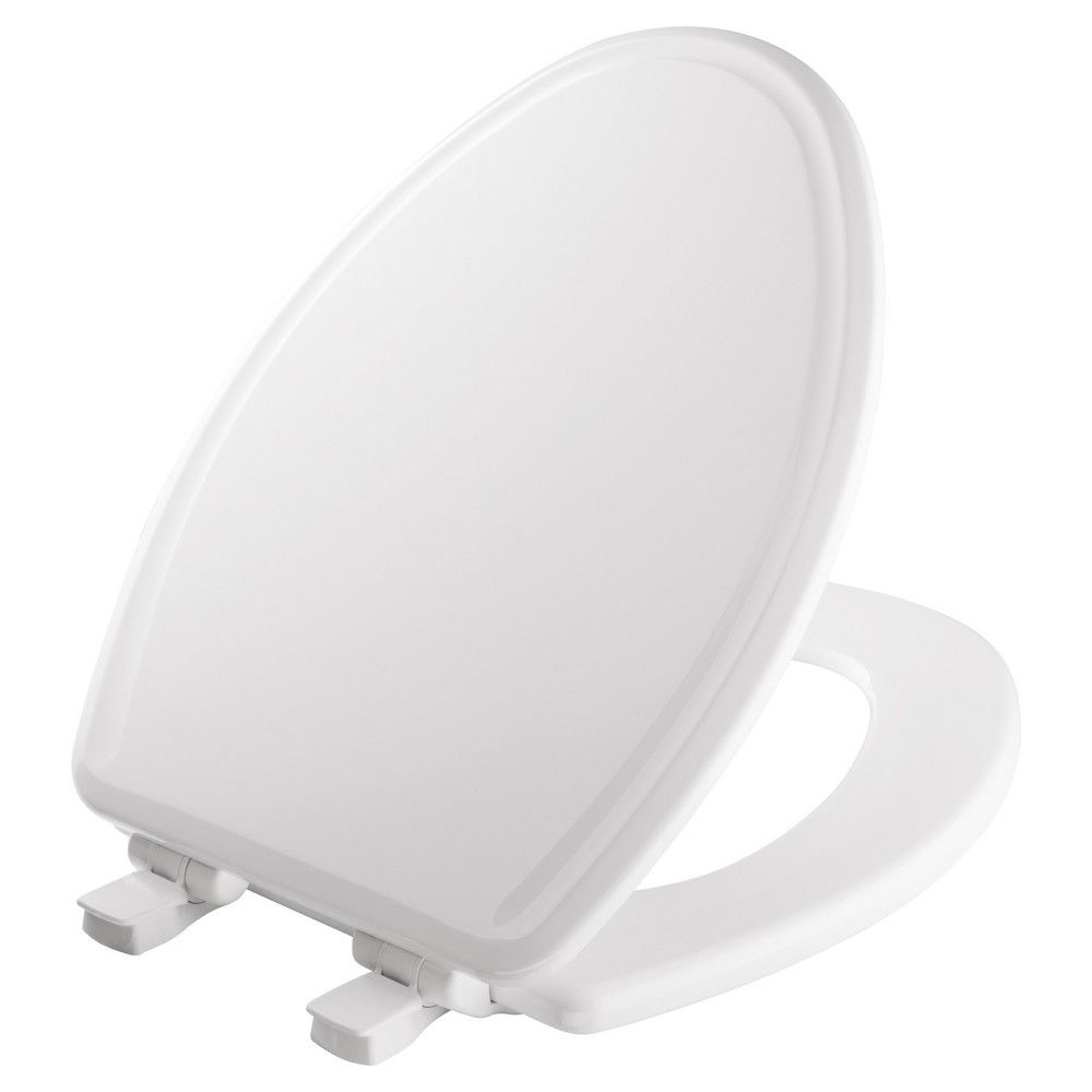 Mayfair Elongated Molded Wood Toilet Seat With Whisper Close With