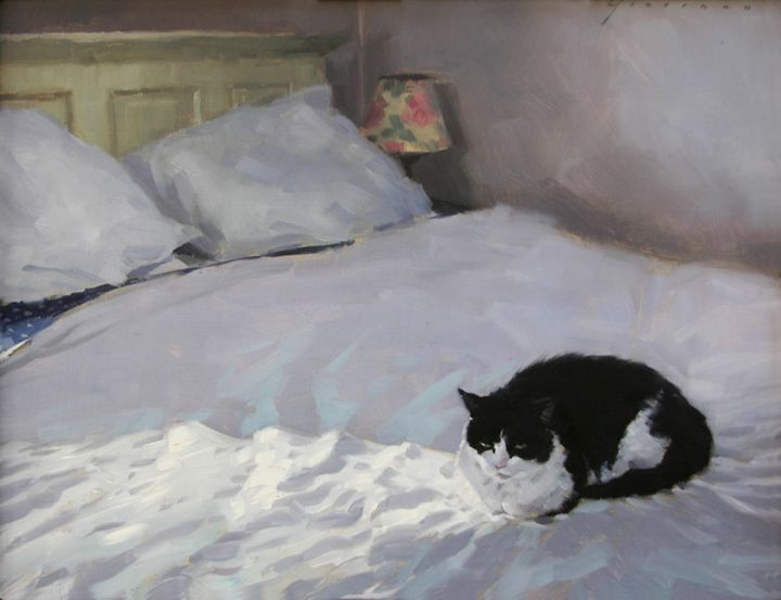 Cat with Sunlight - Vincent Giarrano (b. 1960)