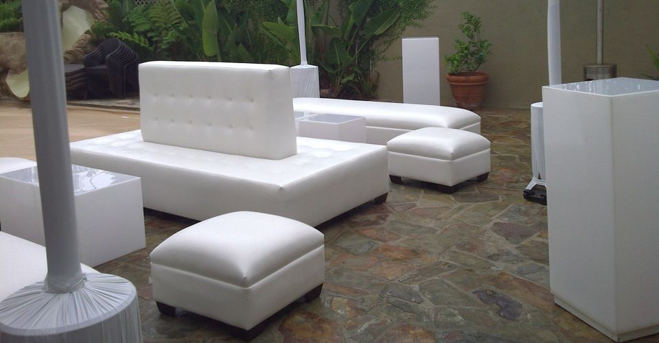 Lounge Furniture For Event Rental Furniture White Lounge