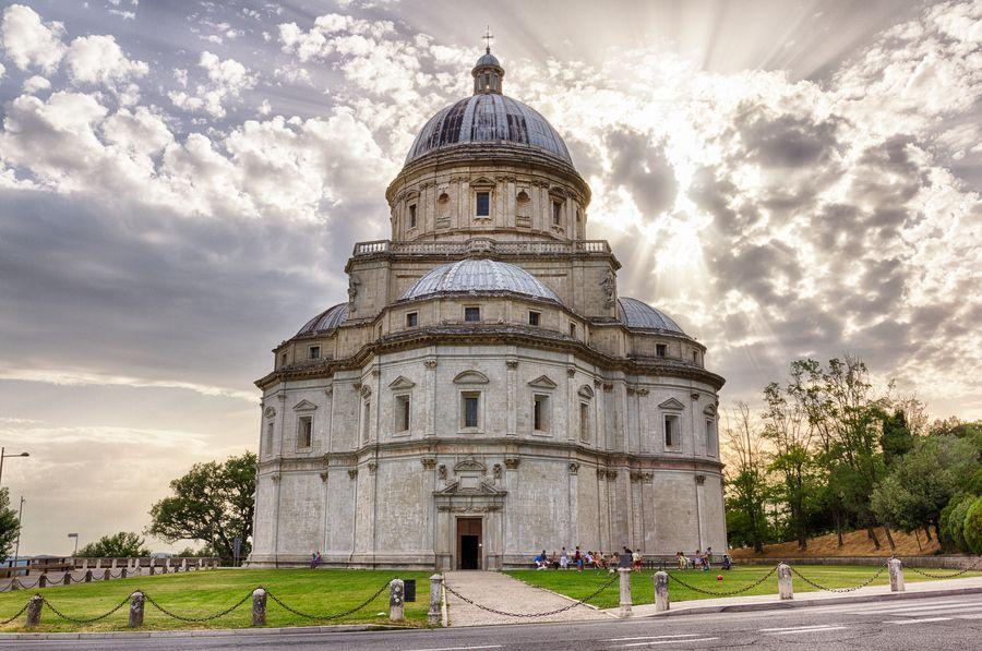 Santa Maria Della Consolazione Todi Italy Various Architects