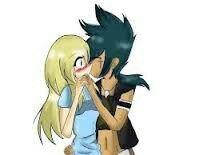 Kyoya Tategami and Alyssa!  So cute.....!