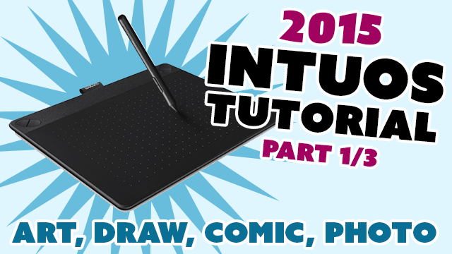 Learn how install and use the new Intuos tablets