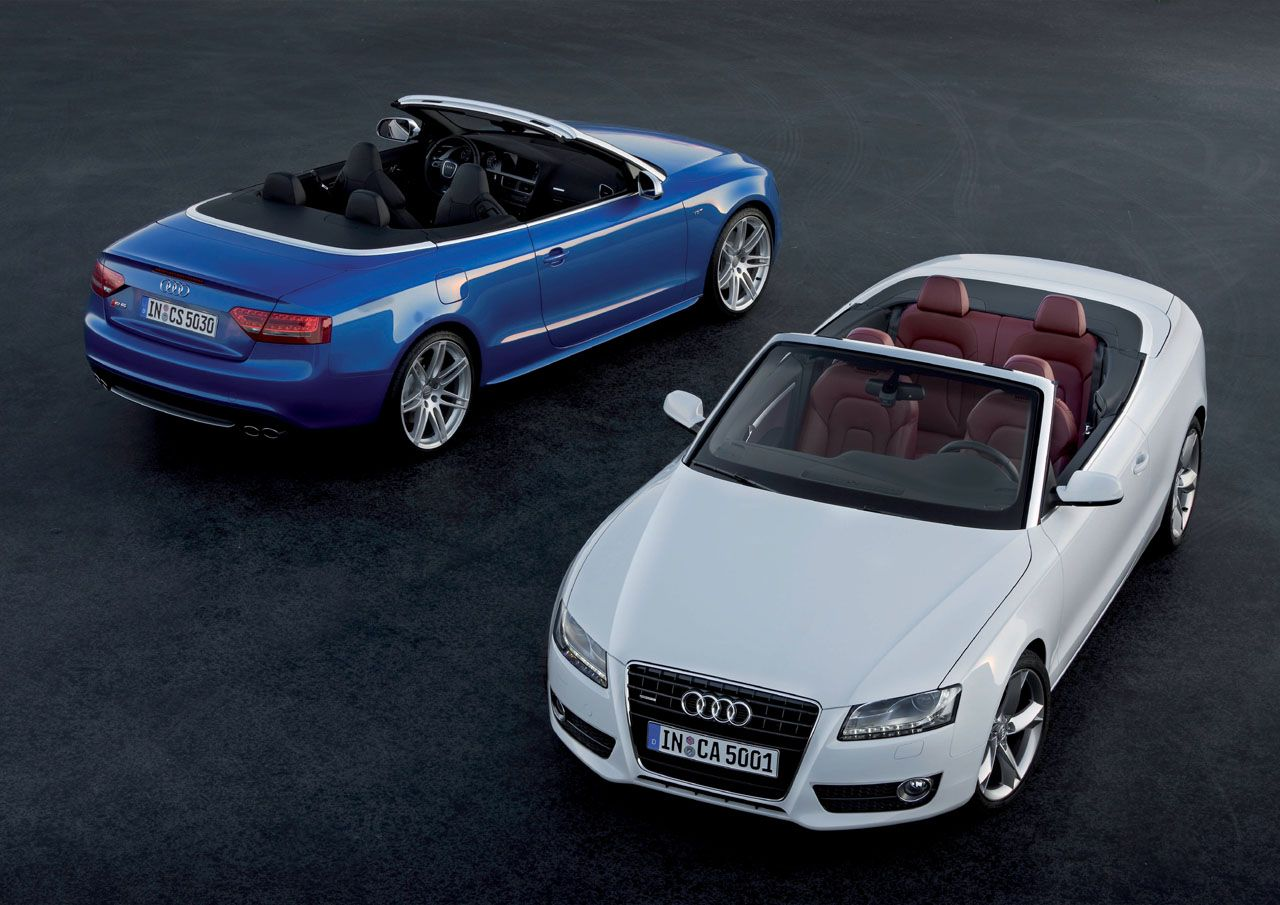 2010 Audi A5 And S5 Cabriolet Unveiled The Torque Report Audi A5 Audi S5 Cabriolets