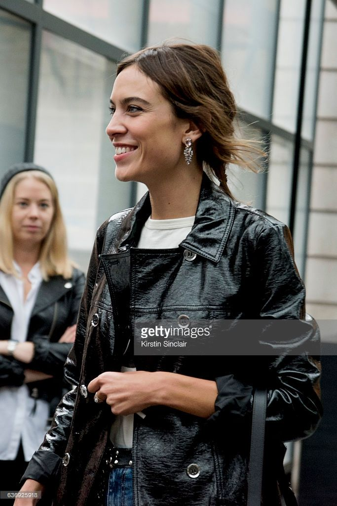 Fotografia de notícias : Model and TV presenter Alexa Chung on day 2 of...