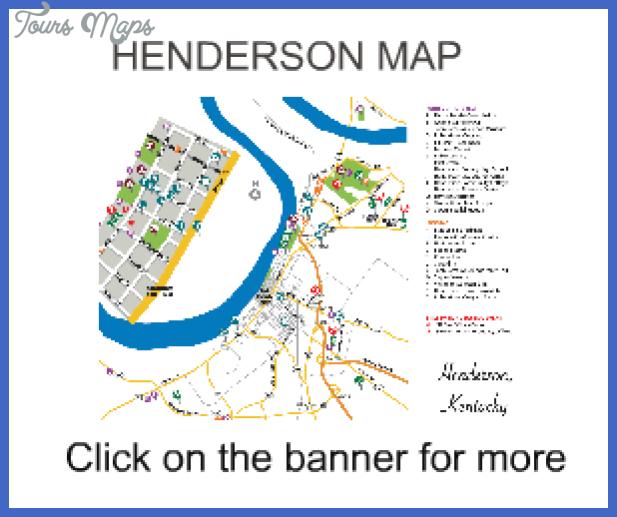 Henderson Map Tourist Attractions Tourist, Tourist