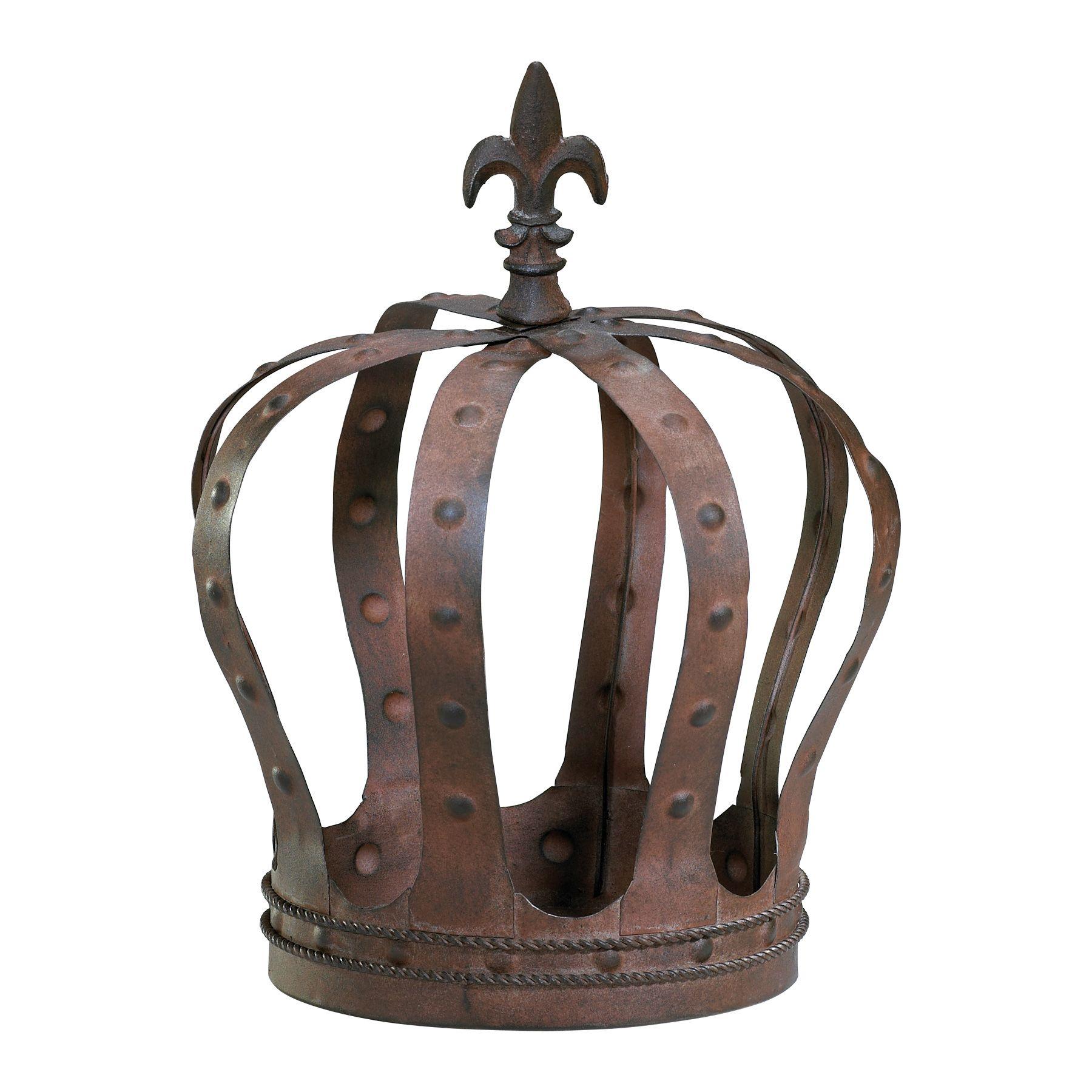 Pin by ✿ Susie ✿ on Home Genius   Crown decor, Metal crown ...