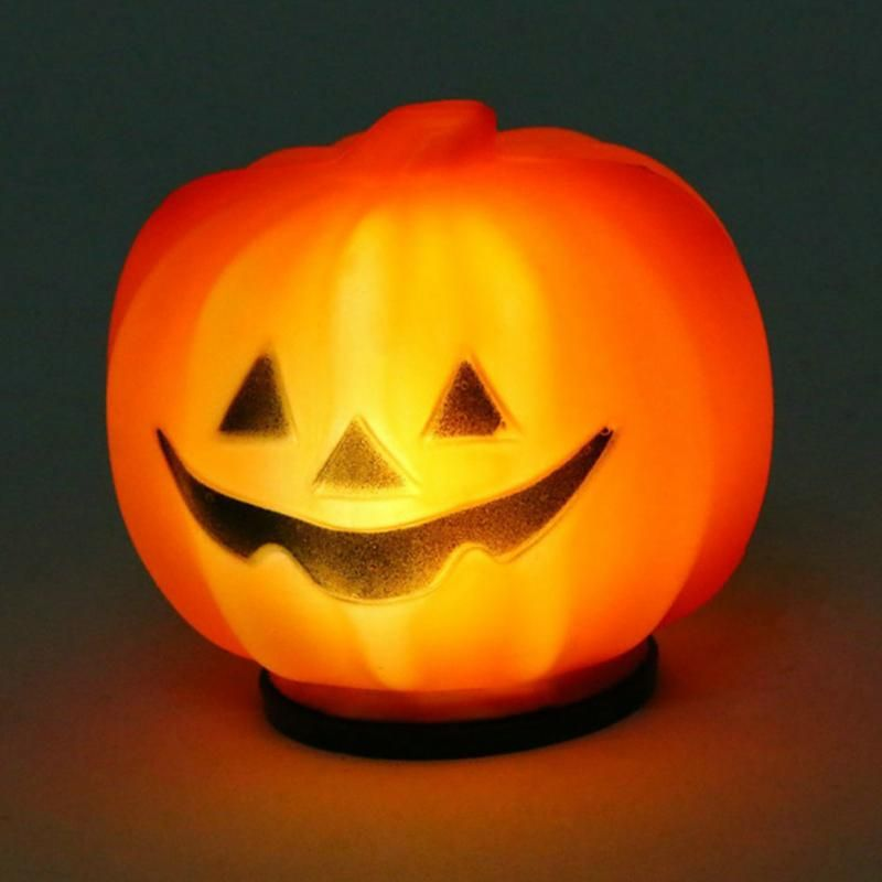 Click to Buy \u003c\u003c Carnival Party Lantern LED Pumpkin Night Light - halloween lighted decorations