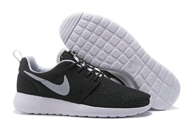 Nike Roshe Run Fast Shipping Nike Roshe Run One BR Unisex Black White  Running Shoe