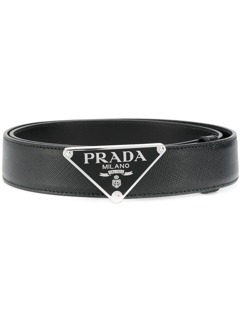 PRADA belts logo buckle belt Belt buckles, Prada, Belt