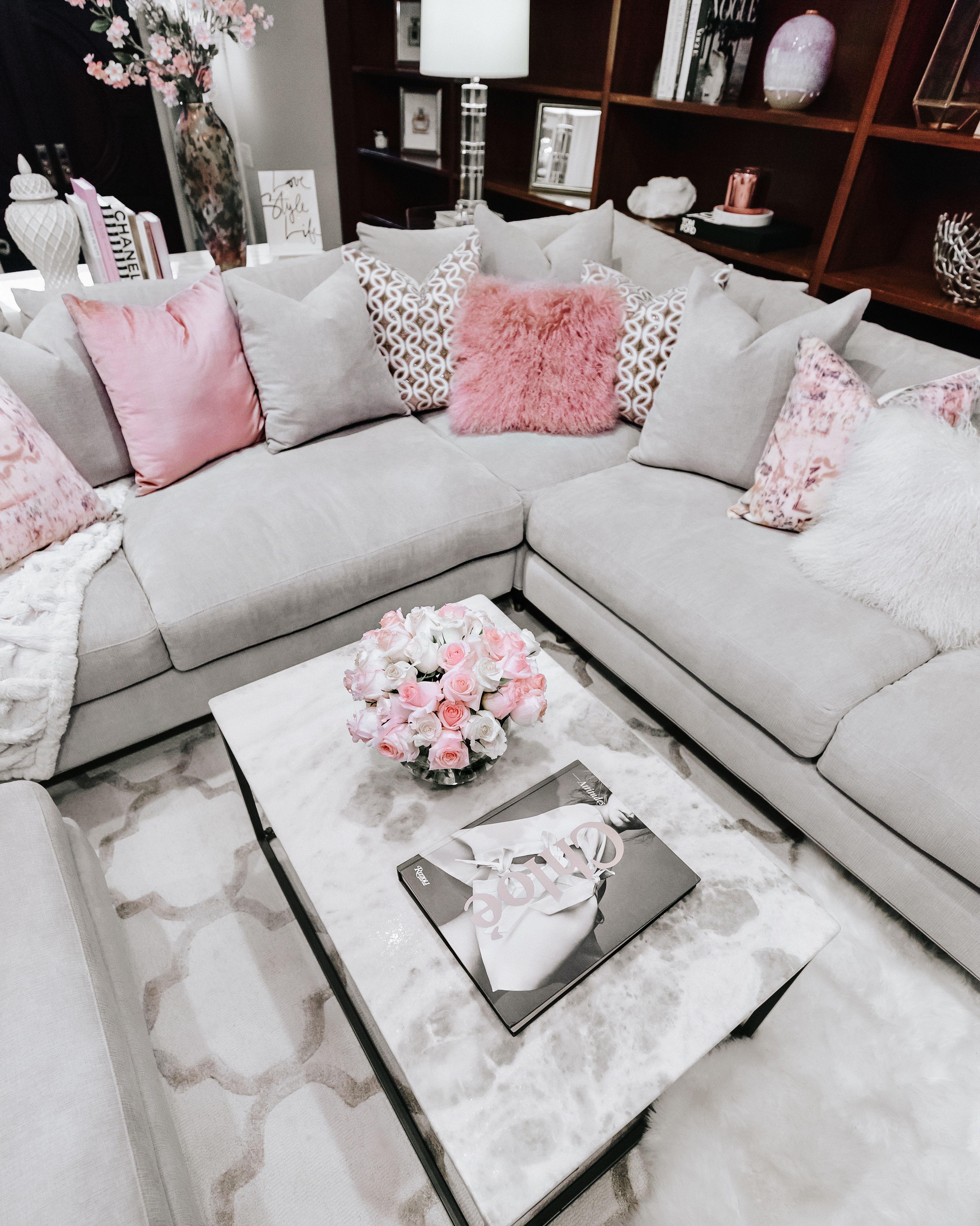 7 Feminine Decorating Ideas For Spring Feminine Decor Feminine Living Room Cheap Office Furniture