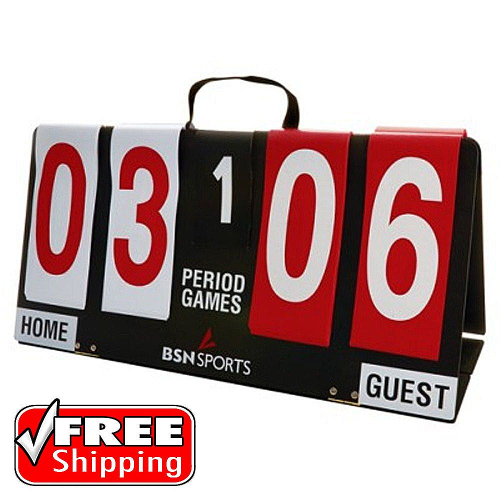 Portable Scoreboard Manual Flip Volleyball Soccer Basketball Sport Games Outdoor Sport Games Games At Home Workouts