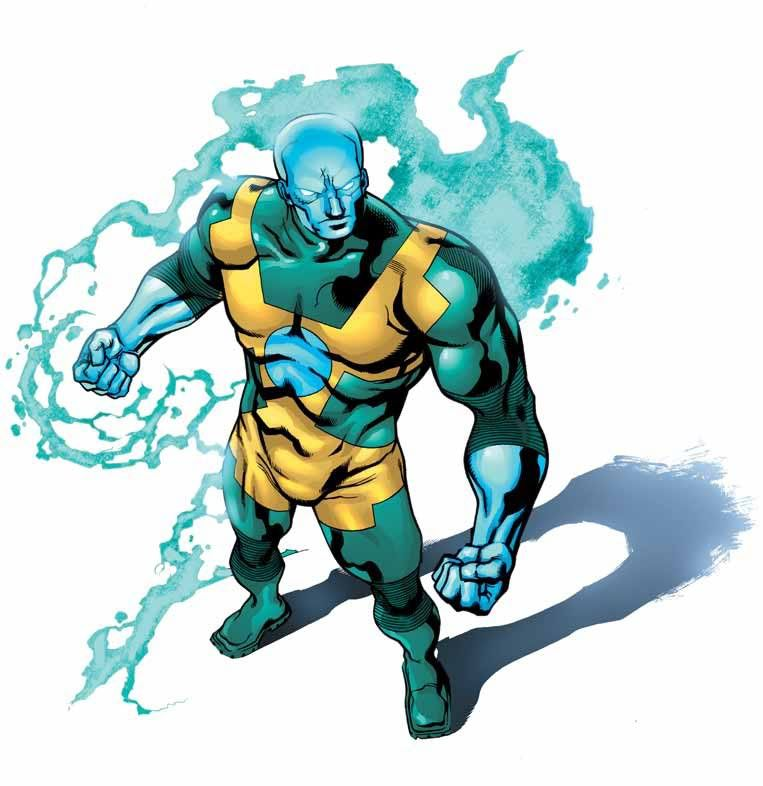 Gamma The Atom Smasher Personnages Fantastiques Heros Personnages