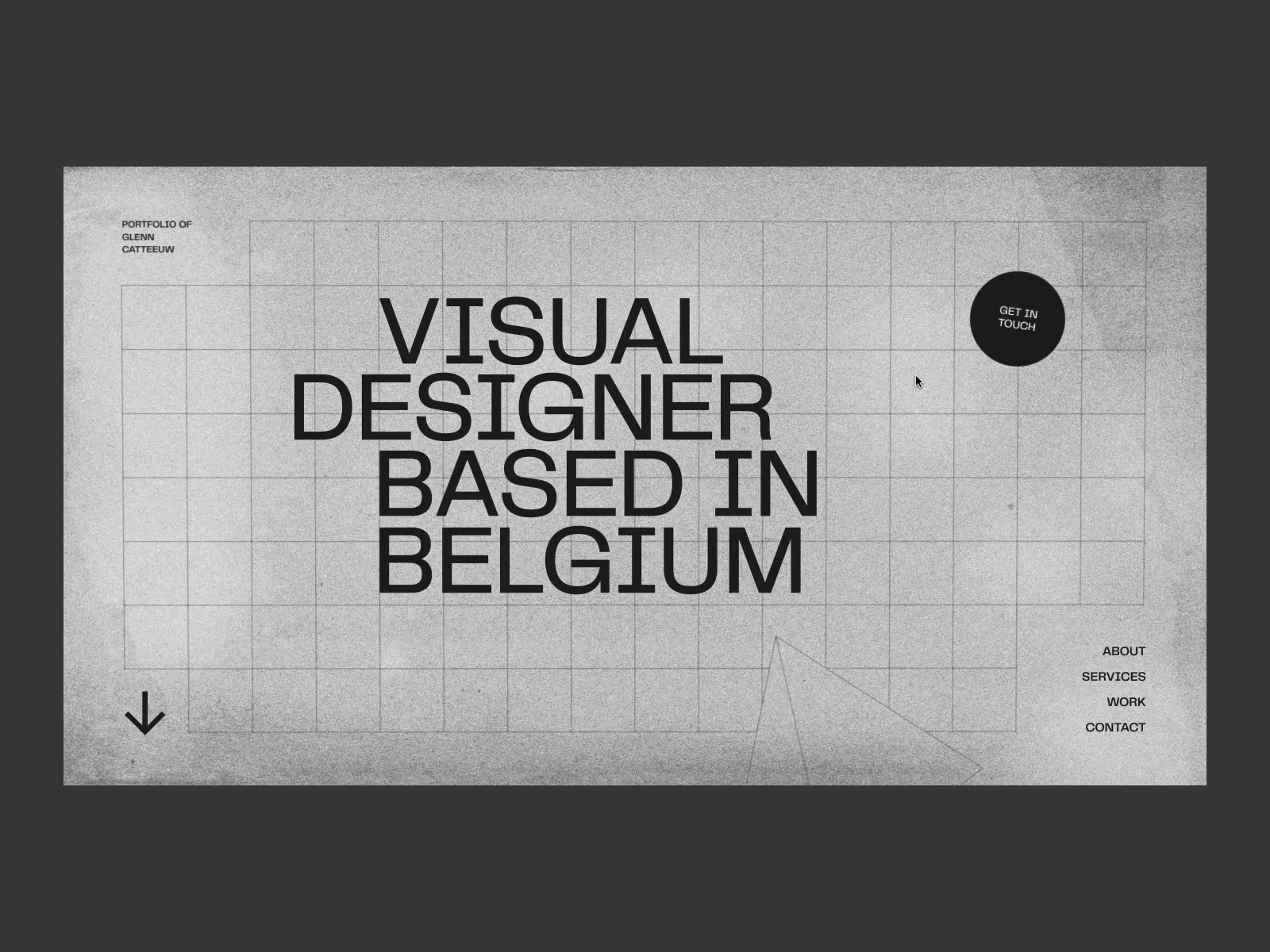 Glenn Catteeuw Portfolio 2020 By Glenn Catteeuw In 2020 Website Header Design Web Design Web App Design