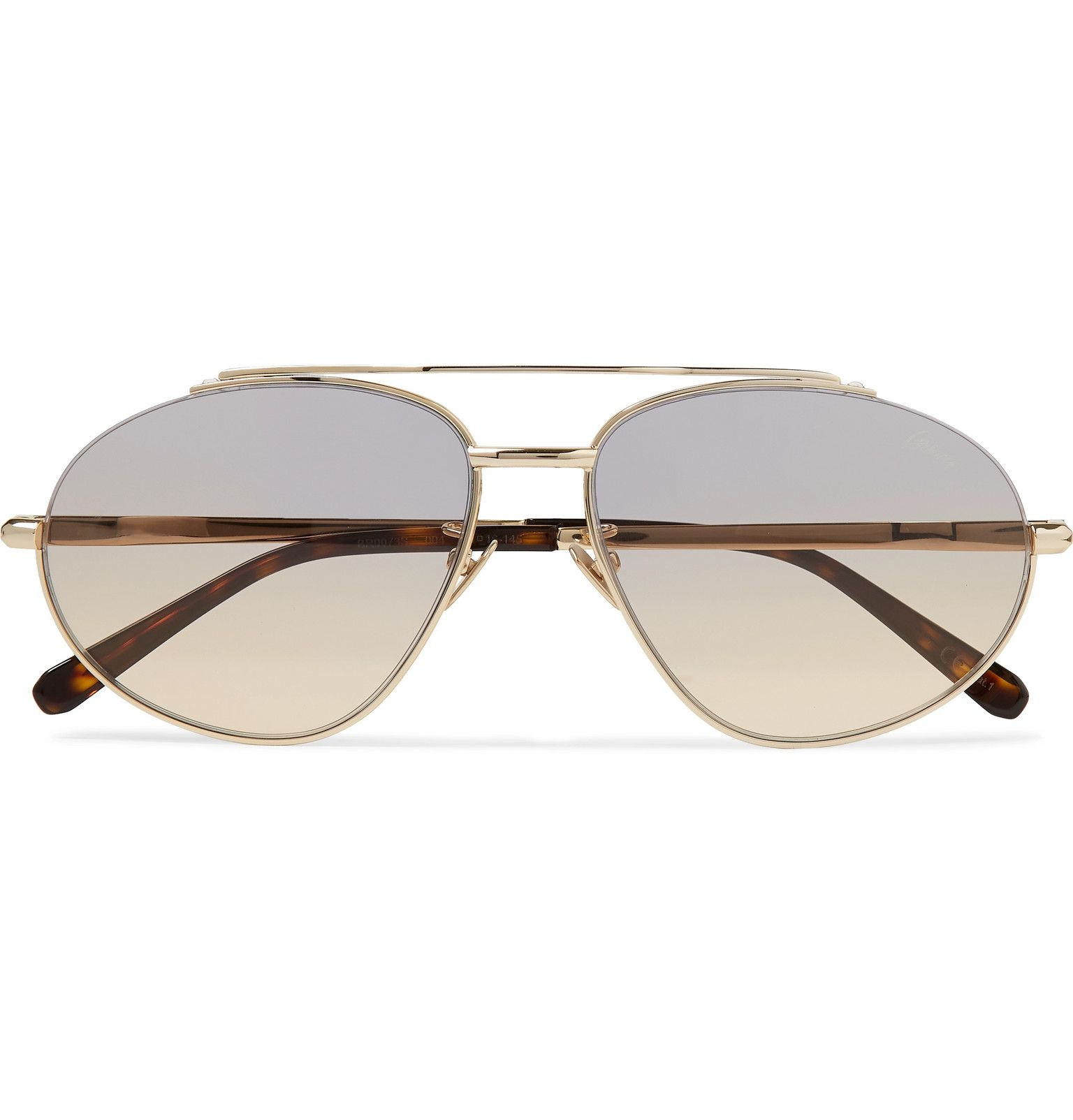 Brioni – Aviator-Style Gold-Tone Sunglasses – Men – Gold