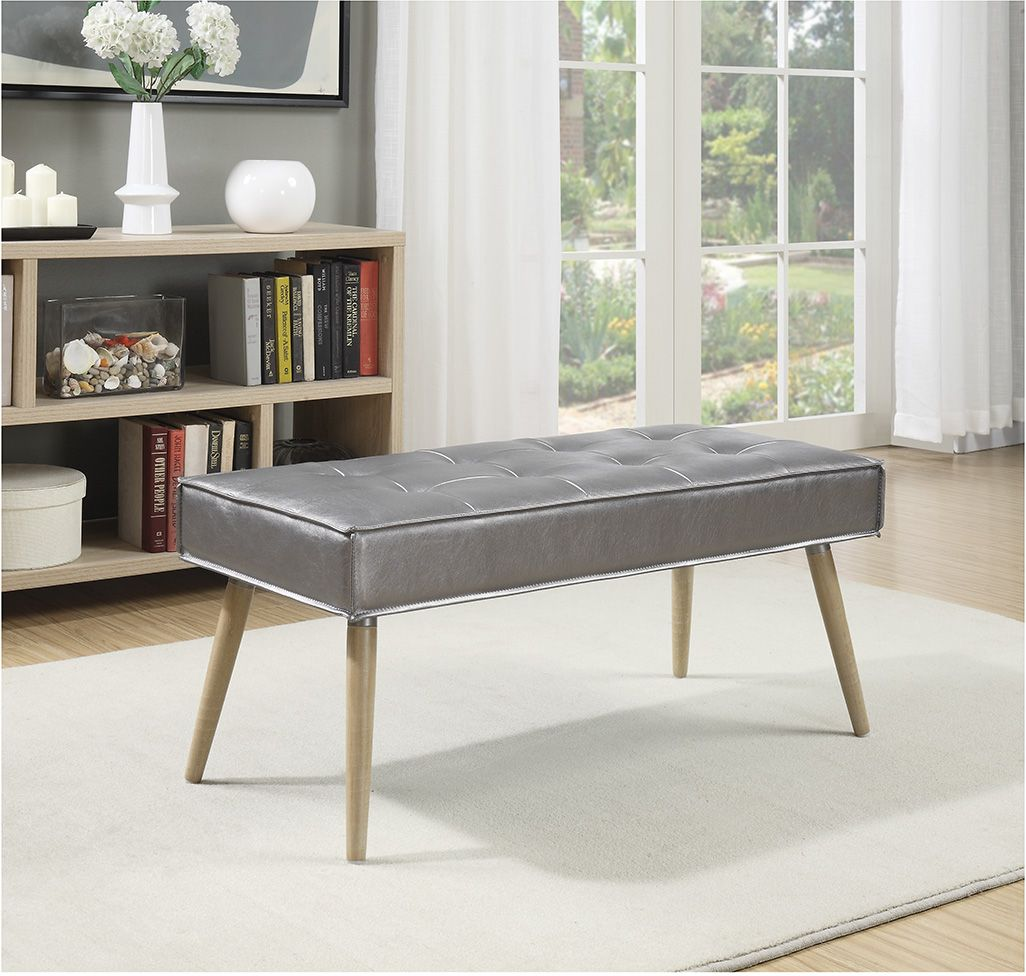 Modern appeal, classic design. The Amity Bench. #homedecor #FurnishYourLifestyle
