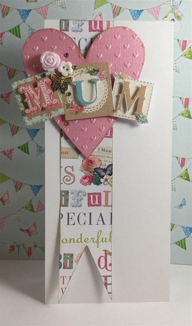Belissima Mum Card Docrafts Com Cards Handmade Birthday Cards For Mum Birthday Cards For Women