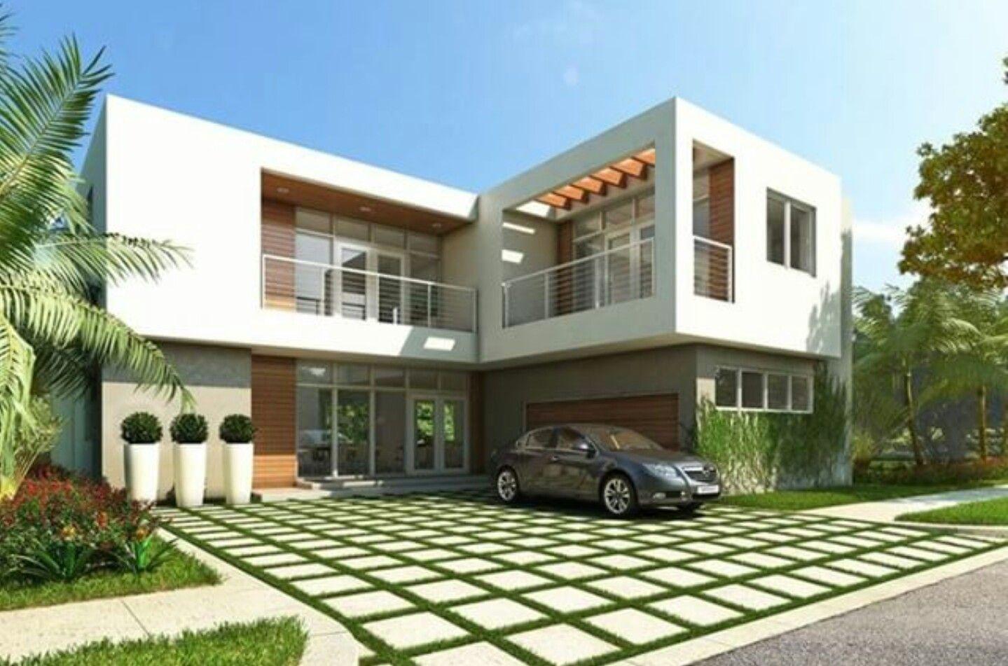 Moderne häuser mit terrasse  Pin von Kamila Calva auf Fachadas   Pinterest
