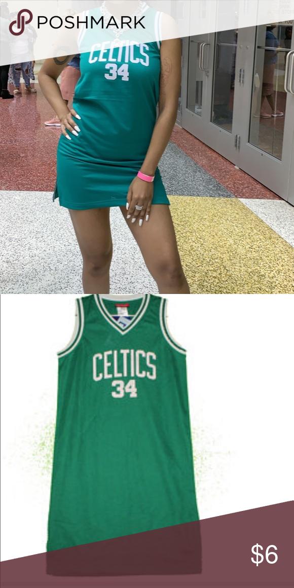 Vintage Boston Celtics Paul Pierce Jersey Dress Jersey Dress Paul Pierce Jersey Athletic Tank Tops