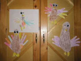 Storlies' Stories: Footprint/Handprint Turkeys #handprintturkey