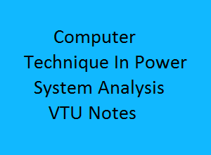 Here you can get free lecture notes of Computer Techniques