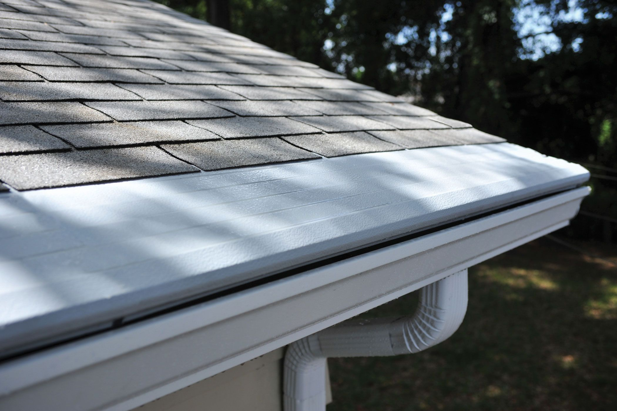 Gutter Helmet installed on Northern Florida home