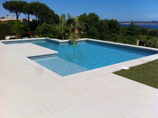 P tes de verre marquises carrelage piscine carrelage - Carrelage plage piscine ...