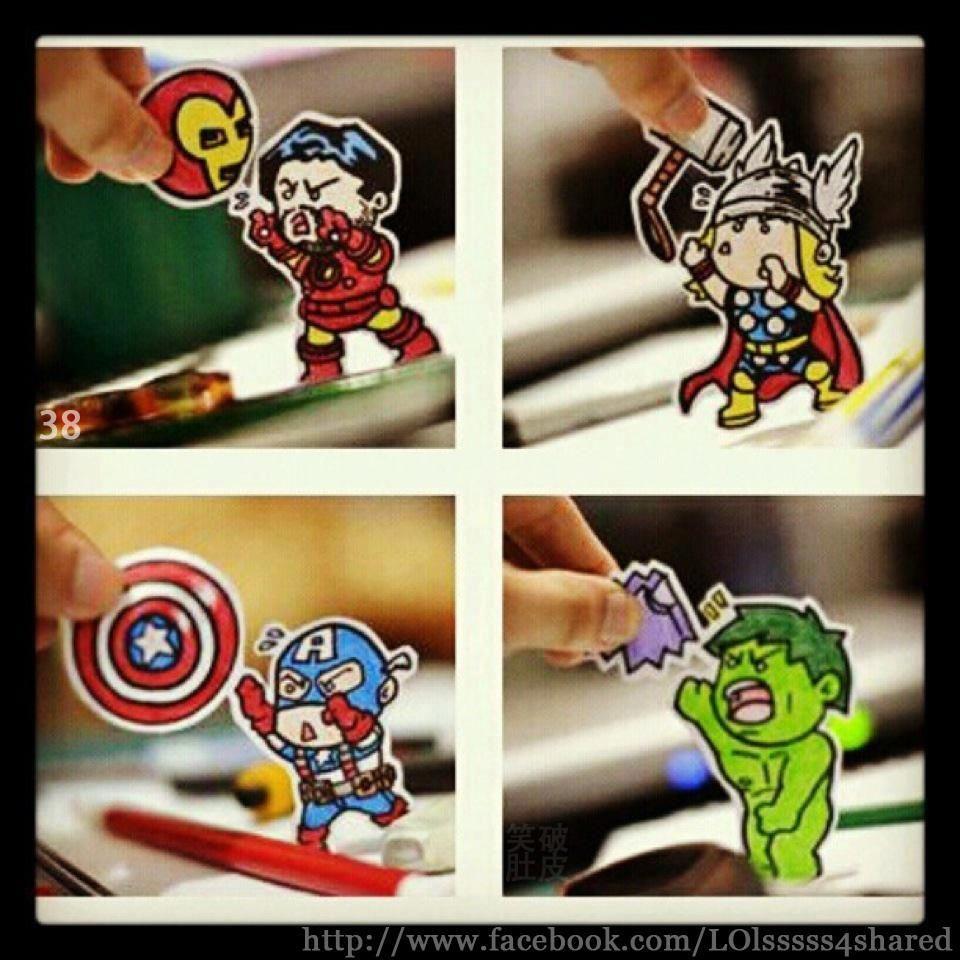 Avengers get trolled!
