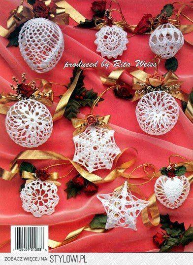 Bombki Wzory Szydelkowe Mazurekgra Chomikuj Pl Na Stylowi Pl Christmas Ornaments Crochet Christmas Snowflakes Christmas Balls
