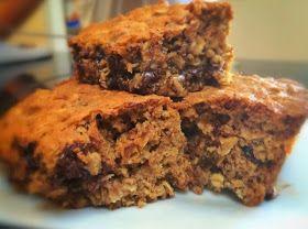 Around the Table: Loving Food in RI & Beyond : Healthy Dark Chocolate Oatmeal Bars