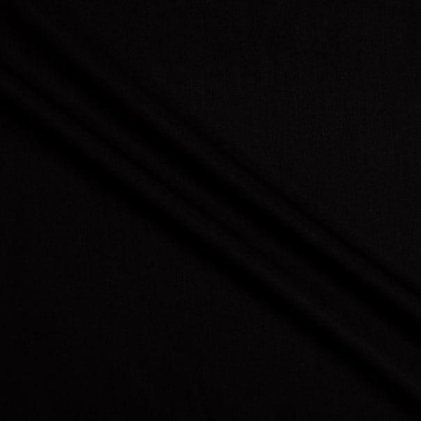 Telio Modal Twill Bamboo Rayon Tencel Black Twill Photo Black Black Fabric