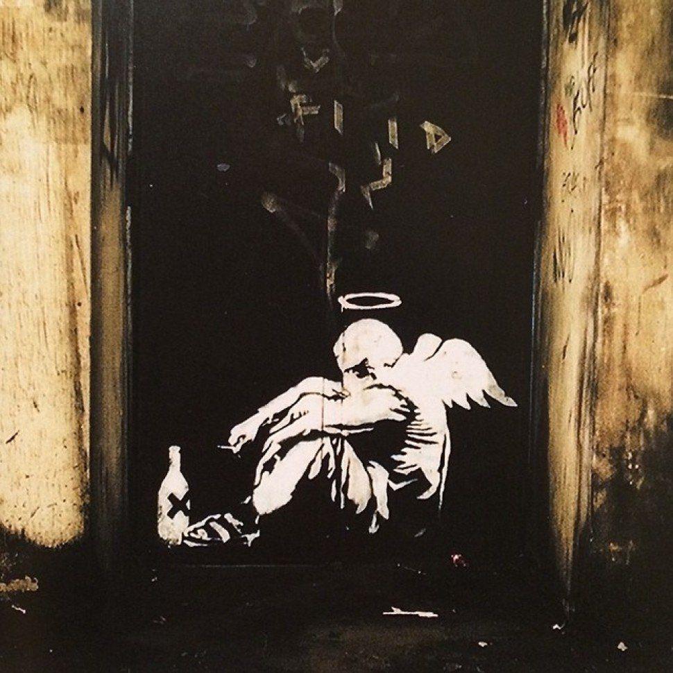 Banksy Nin 189 Duvar Resmi Grafitisi Ve Sokak Sanati Sokak Sanati Graffiti Banksy Banksy Graffiti