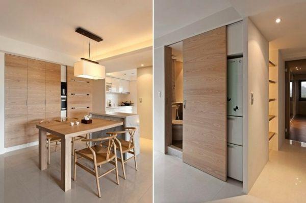 küche-moderne-deko-ideen-minimalistisch-designjpeg (600×397 - offene küche wohnzimmer trennen