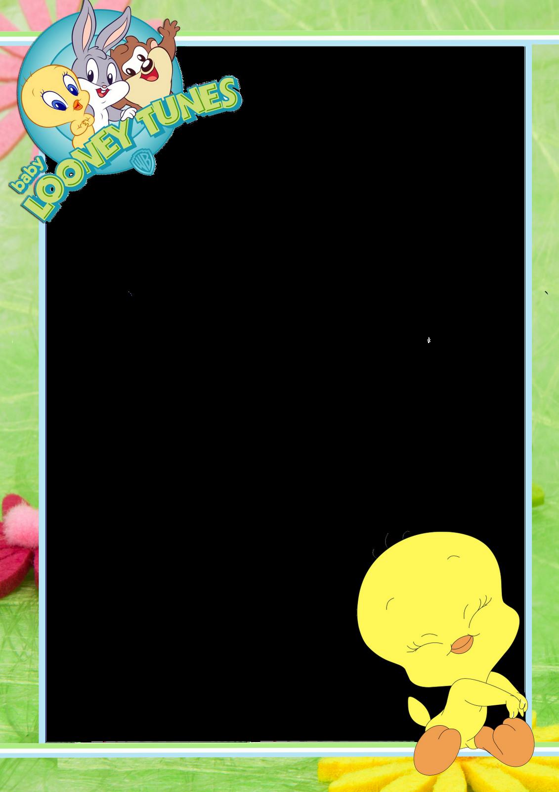 Marcos cuadrados para fotos infantiles looney tunes - Marcos para fotos infantiles ...