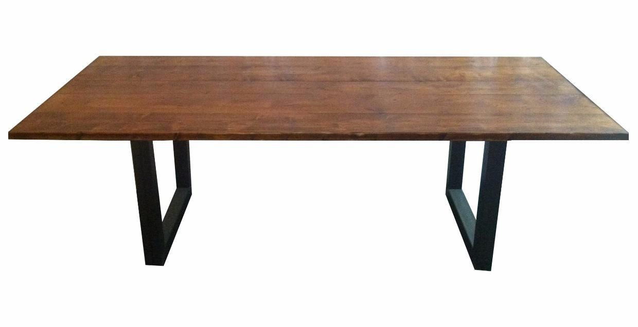 Introducing We Rent Atlanta\'s new table..Our Metal Frame Farm Table ...